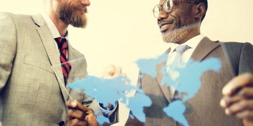 International Business Export Import Global Ideas Concept